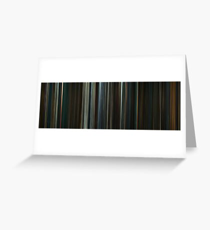 Moviebarcode: The Hobbit: The Desolation of Smaug (2013) Greeting Card