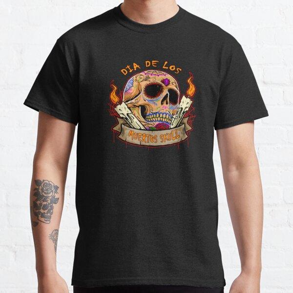 dia de los muertos skull gift Classic T-Shirt