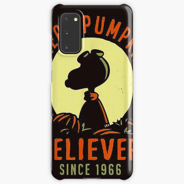 Peanuts great Pumpkin Believer Since 1966 Halloween Gift T shirt Samsung Galaxy Snap Case