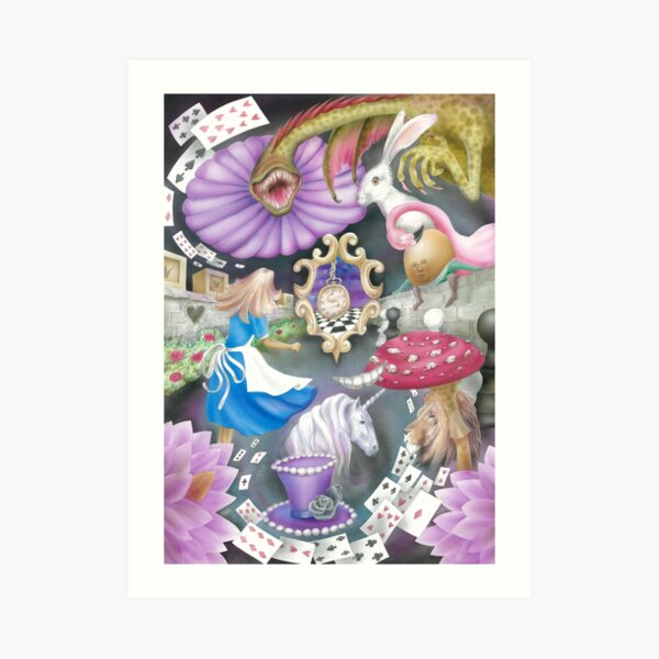 Alice's World Art Print