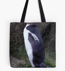 Yellow Eyed Penguin Bird Portrait Tote Bag