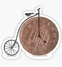 Penny Farthing Sticker