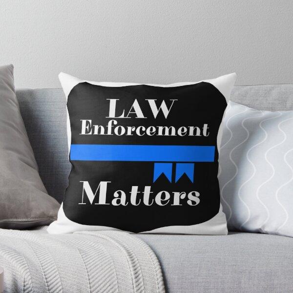 Lawn Enforcement Matters Throw Pillow