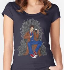 Throne of Time Women's Fitted Scoop T-Shirt
