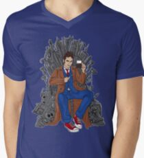 Throne of Time Mens V-Neck T-Shirt