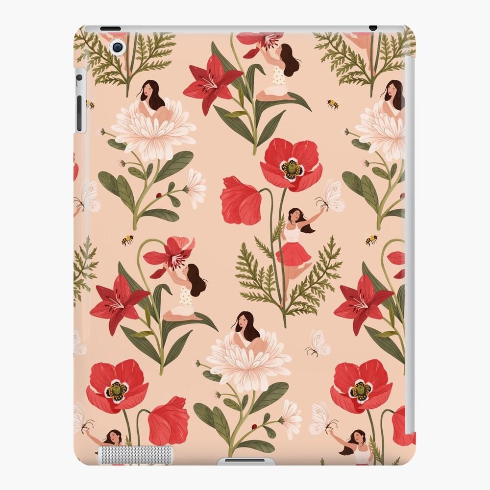 Flower Girls - pink iPad Case & Skin