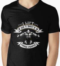 I Lift So I Don't Choke People ! T-Shirt