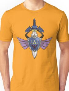 Master Sword - Hylian Shield Aegislash Unisex T-Shirt