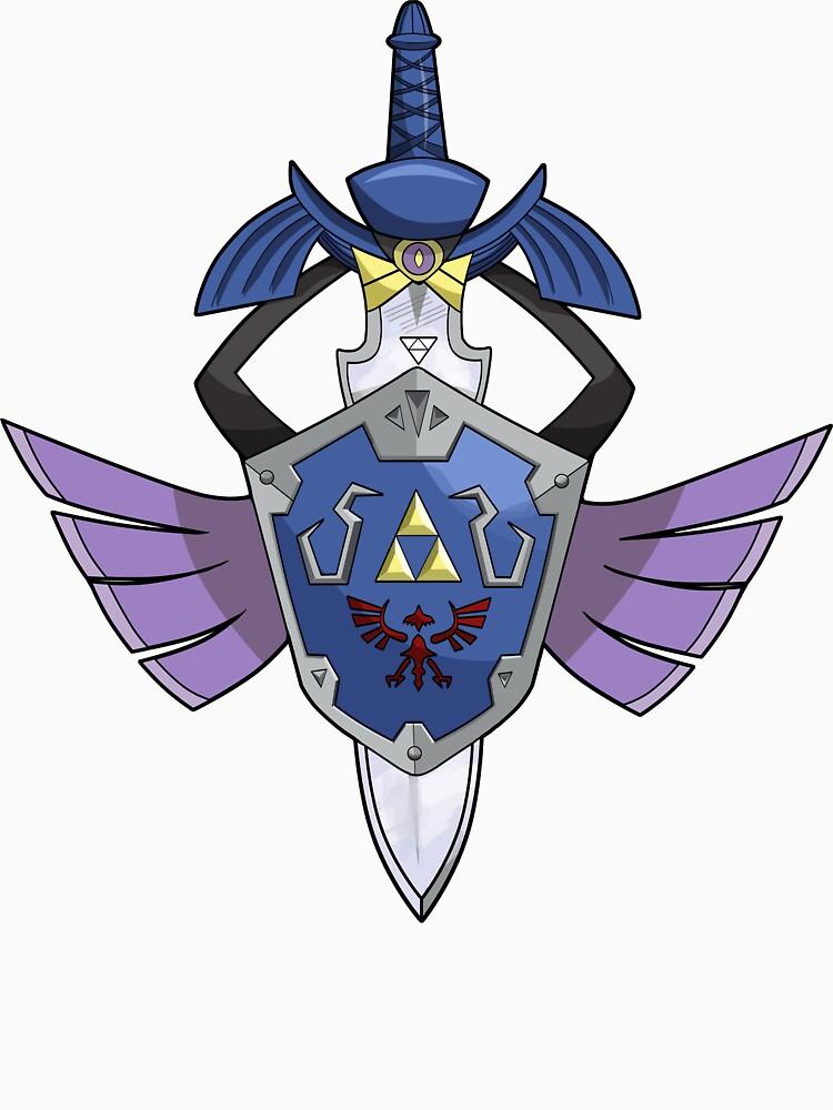 Master Sword - Hylian Shield Aegislash | Unisex T-Shirt
