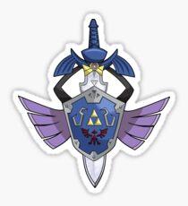 Master Sword - Hylian Shield Aegislash Sticker
