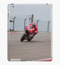 Andrea Dovizioso at Circuit Of The Americas 2014 iPad Case/Skin
