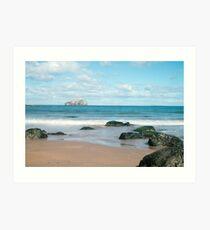 Bass Rock, East Lothian Art Print