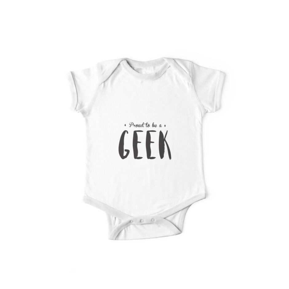 Proud to be a GEEK T-shirt by simplycreate