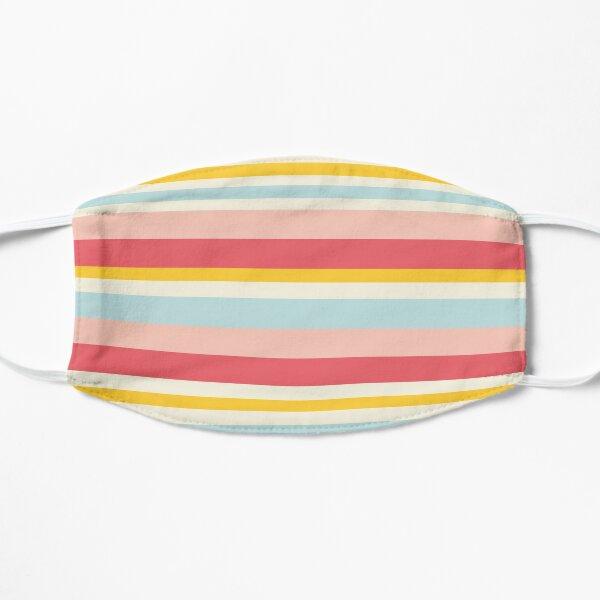 Deckchair stripes Flat Mask