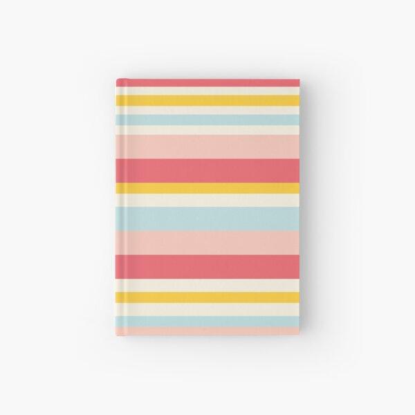 Deckchair stripes Hardcover Journal