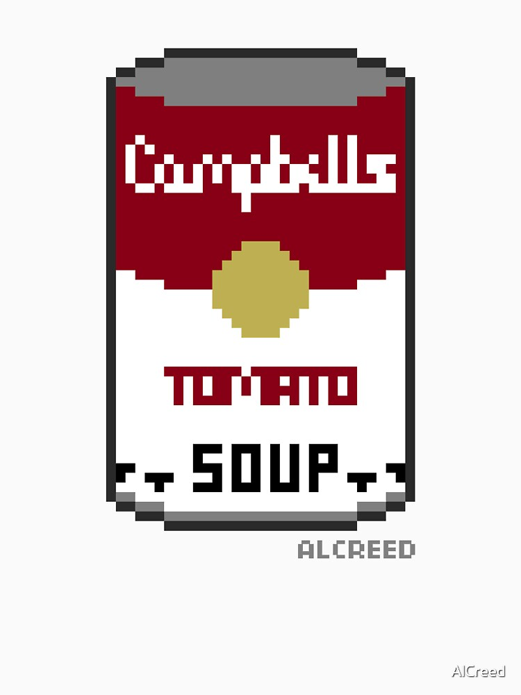 8-Bit Soup Can by AlCreed