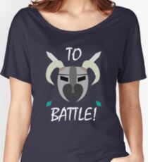 TO BATTLE! Women's Relaxed Fit T-Shirt