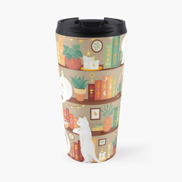 Library cats 2020 - day Travel Mug