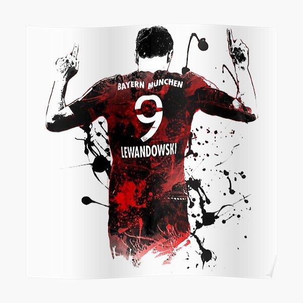 Robert Lewandowski Bayern Munich Poster