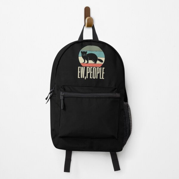 Ew People Funny Ferret Backpack