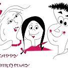 Birthday card by IrisGelbart