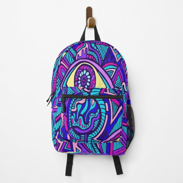 psychedelic Patterns Backpack