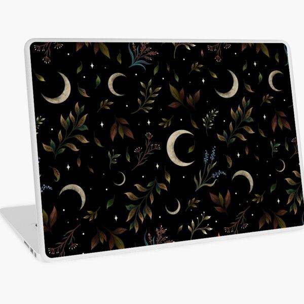 Crescent Moon Garden Laptop Skin