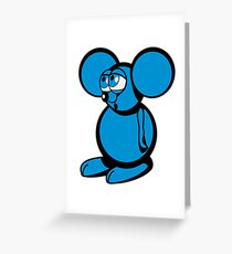mouse sweet love Greeting Card