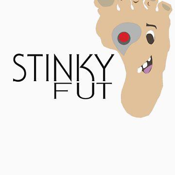 Stinky Fut Logo-Cyborg by Stinkyfut