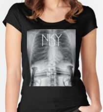 X-Ray Gun Slinger  Women's Fitted Scoop T-Shirt