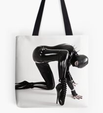 Spiky creature Tote Bag
