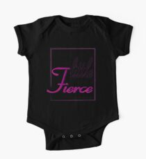 She is FIERCE One Piece - Short Sleeve