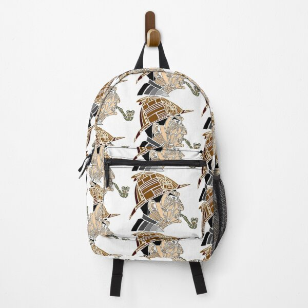 Stained-glass Sherlock Backpack