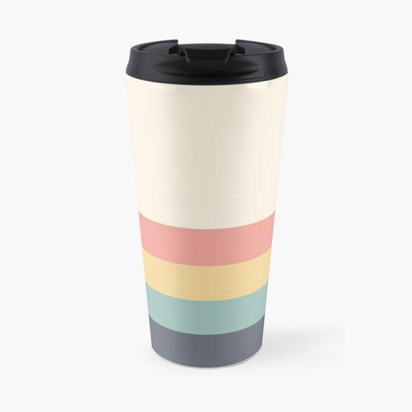 Retro stripe Travel Mug