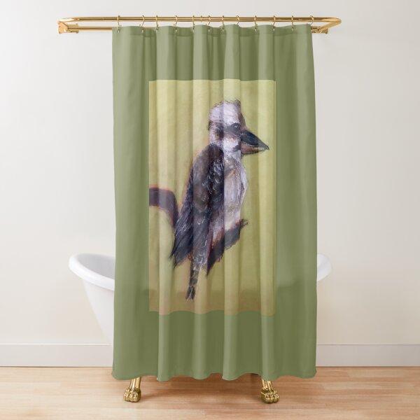 Laughing Kookaburra Shower Curtain