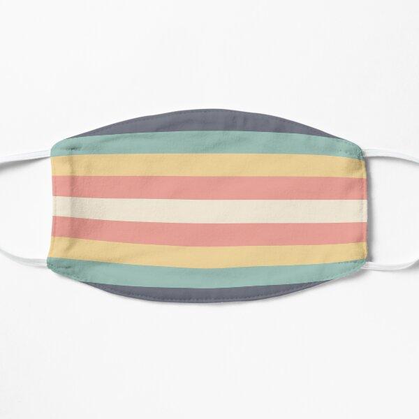 Retro stripe Flat Mask