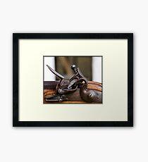 The Flintlock  Framed Print