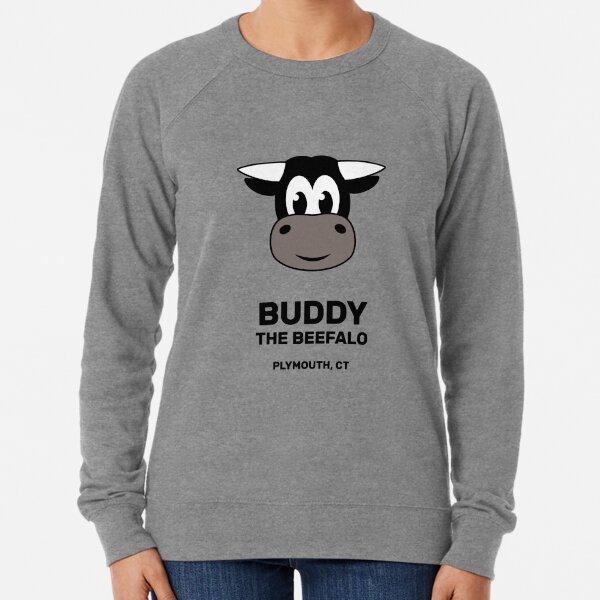 Buddy the Beefalo Plymouth, CT Lightweight Sweatshirt