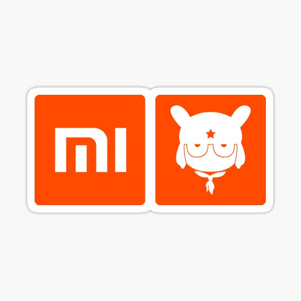 Logotipo de Xiaomi Bunny Pegatina