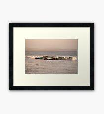 Wave Rider Framed Print