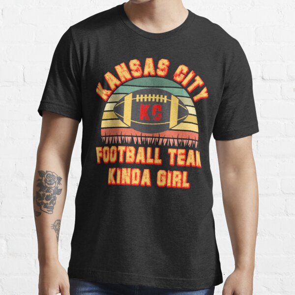Kansas city football kinda girl vintage jersey Essential T-Shirt
