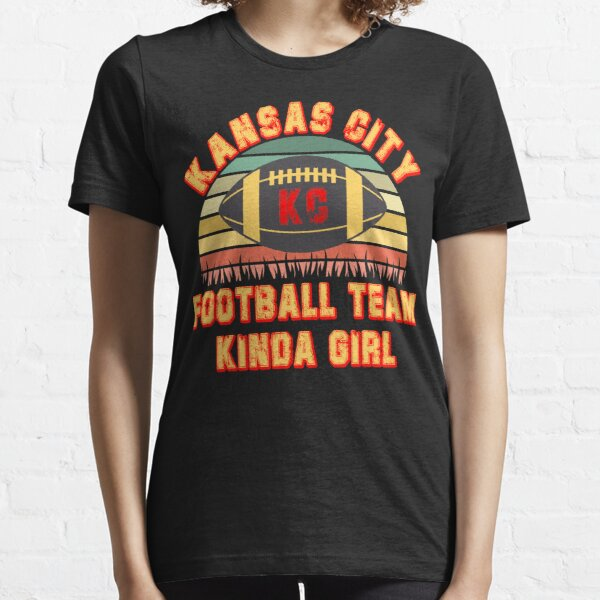 Kansas city football kinda girl vintage jersey Essential T-Shirt