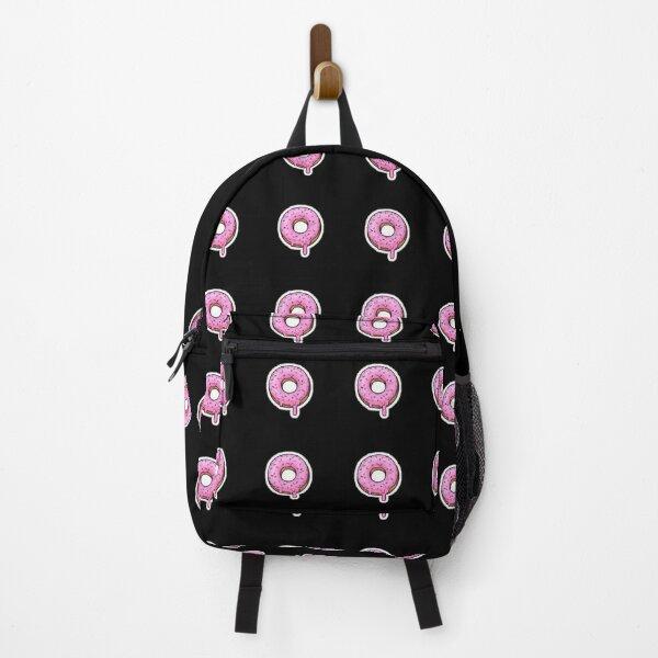 Mini donut design pink Backpack