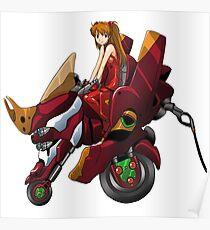 Asuka Eva 02 Poster