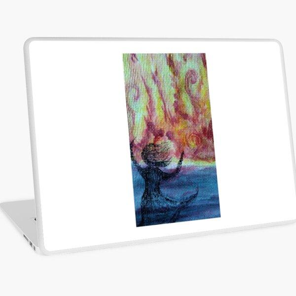 Passion's Fire Storm Laptop Skin