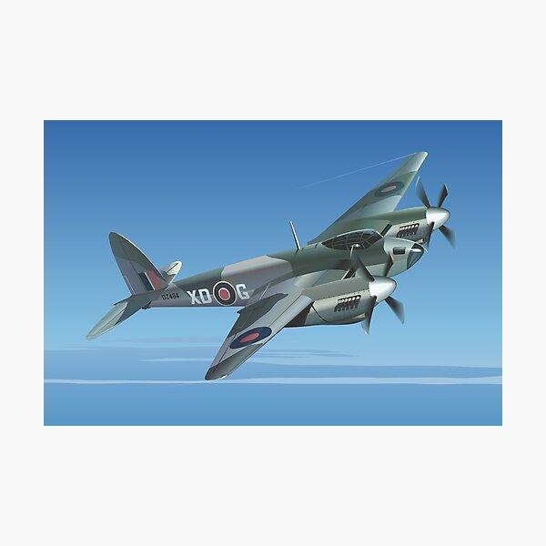 De Havilland Mosquito Aircraft Art Print Photographic Print