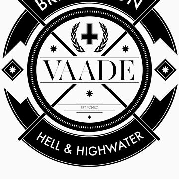 Crest Black by Vaade