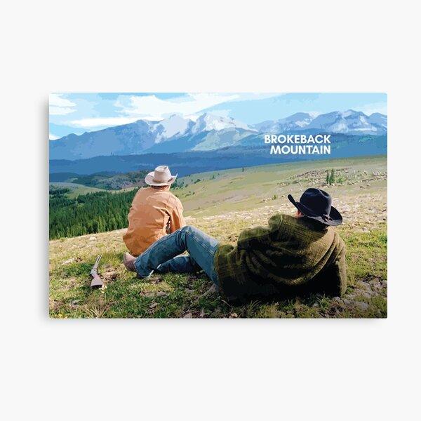 Brokeback Mountain Canvas Print