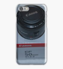 Canon 50mm 1.8 iPhone Case/Skin