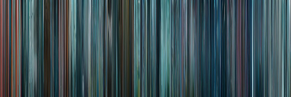 Moviebarcode: Star Trek Into Darkness (2013) by moviebarcode